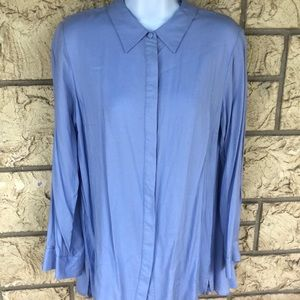 Soft Surroundings Button Up Long sleeve size med
